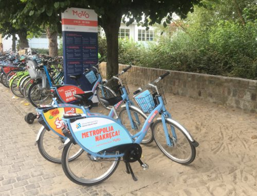 Enjoy Sopot on a city bike