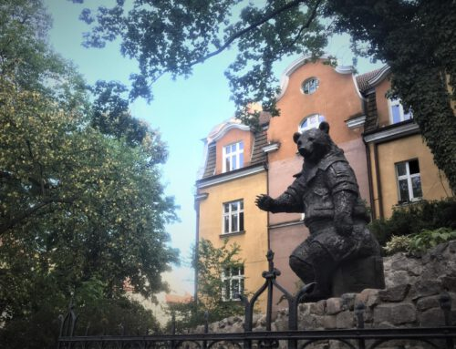 Wojtek the Soldier Bear honoured on Monciak