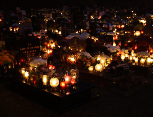 The remarkable sight of All Saints' Day in Sopot