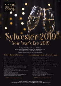 Hotel Sopot include a night's stay in their New Year's Eve package