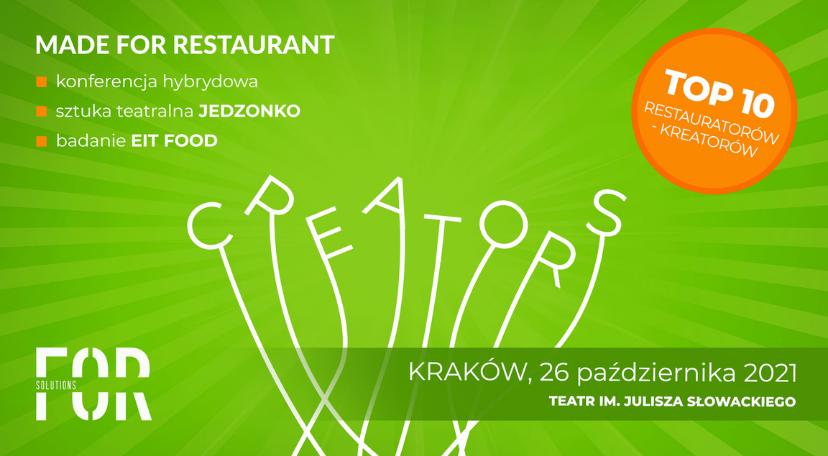 Konferencja Made For Restaurant